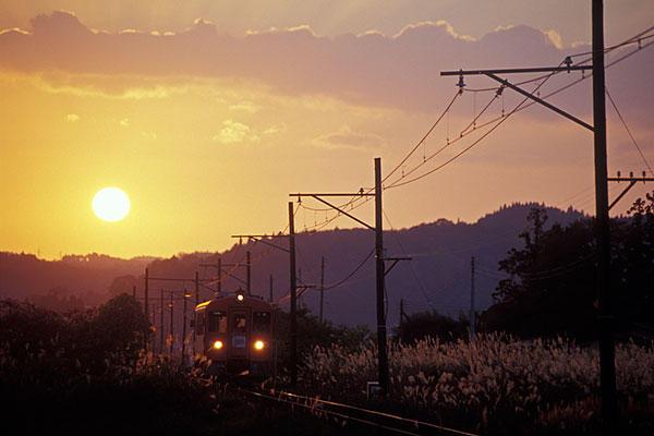 051105鶯沢夕景