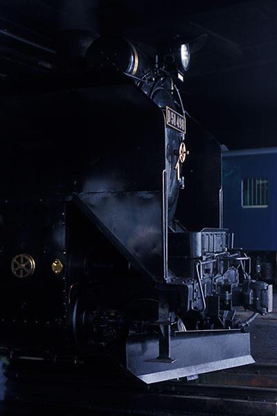 060211扇形庫のD51