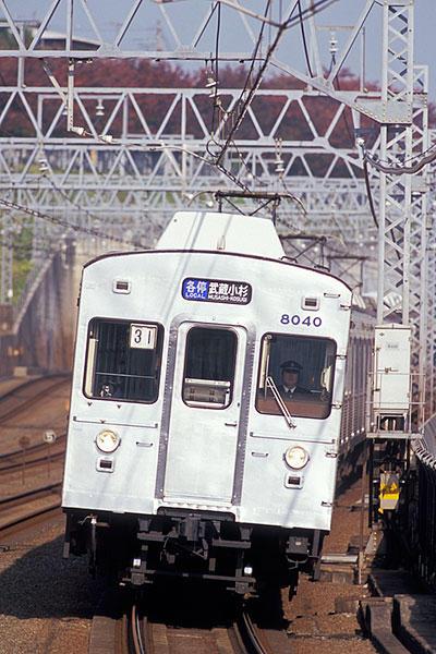 061122東急8039多摩川駅進入