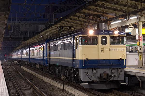 071226急行銀河横浜駅停車中