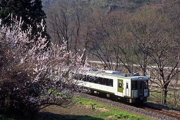 080426山田線で初めて見たキハ110