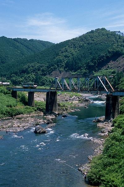 080719赤池〜美並苅安の鉄橋