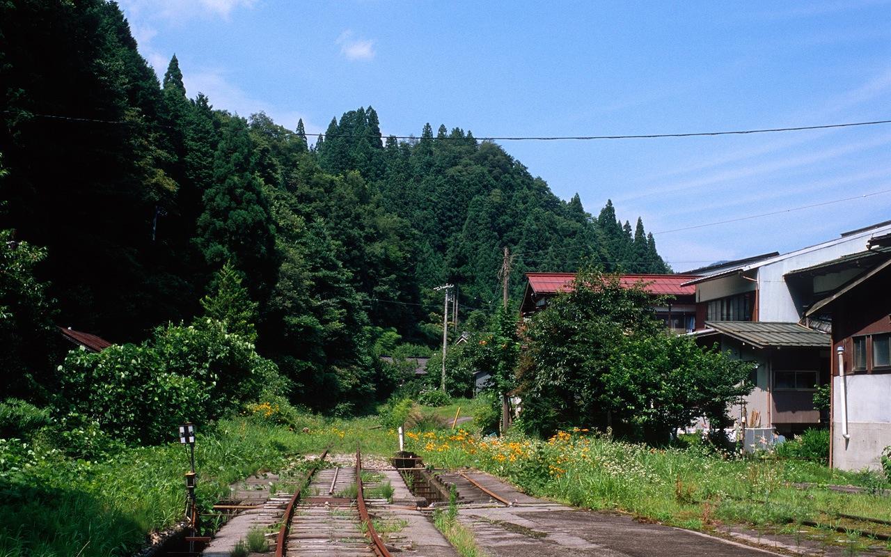 080719北濃駅の行き止まり