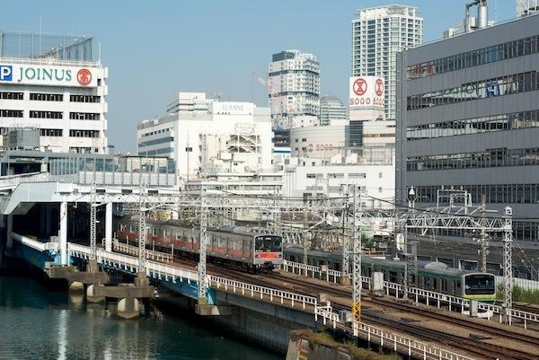 081004 相鉄と湘南新宿ラインの併走