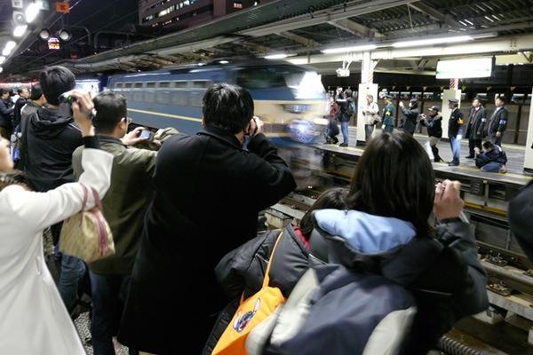 090310 1レ横浜駅入線の様子