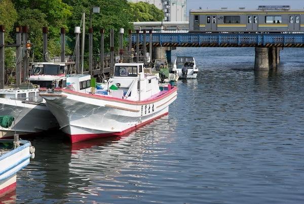 090509 運河を渡る鶴見線