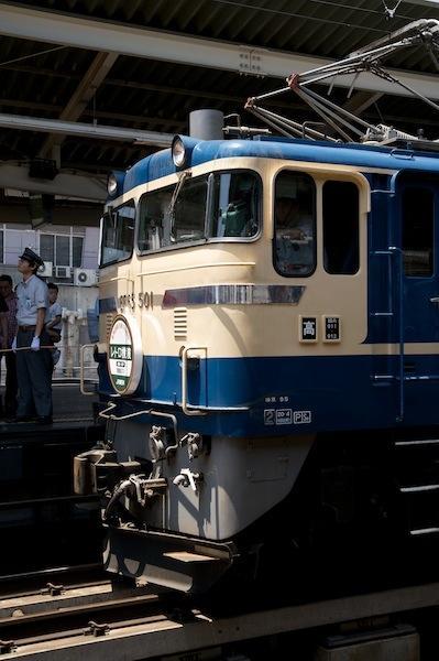 090607 レトロ横濱号の先頭に立つEF65 501号機