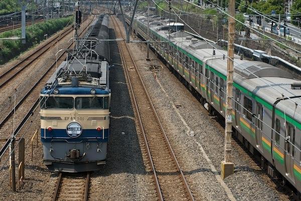 090627 レトロ横濱号下り回送を後ろから