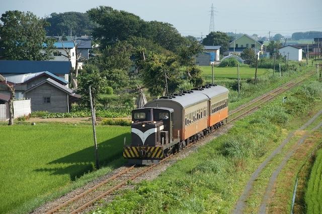 090806 大沢内を走るストーブ列車