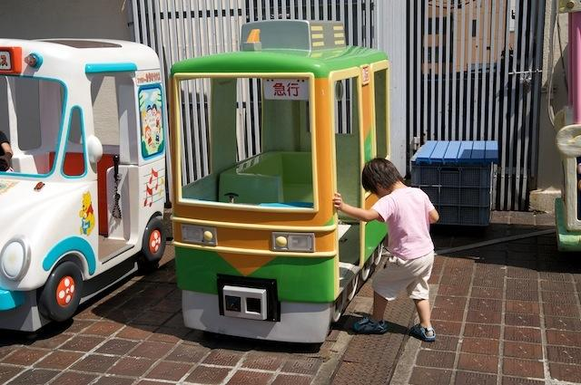 090906 東急東横店屋上の湘南色