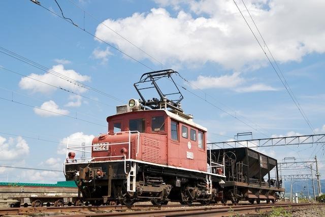 090919 津軽大沢車庫のED221