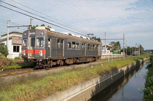 090922 元東急7200系単行の交換