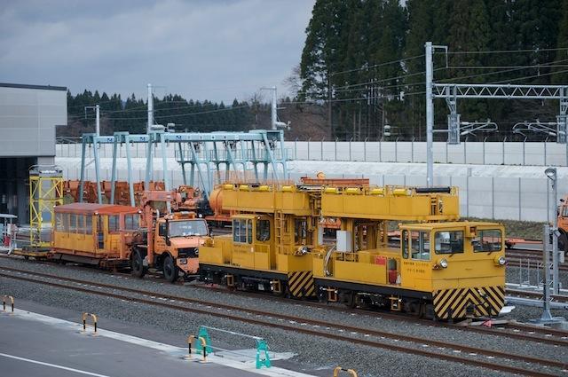 091123 東北新幹線架線作業車