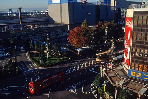 20011124岐阜駅前