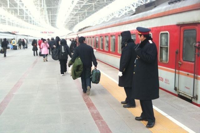 091231 北京北駅にて