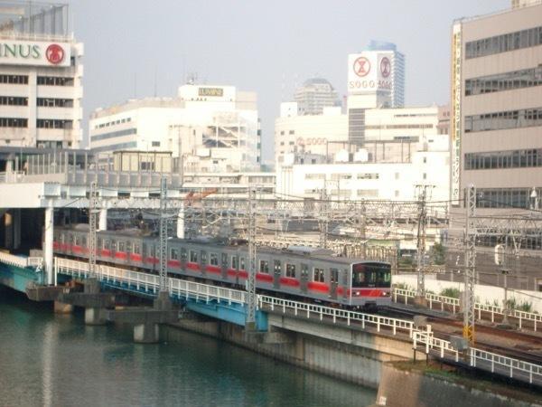 横浜駅出発