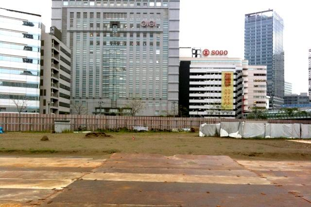 091003 横浜三井ビルディング予定地