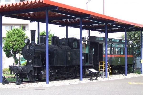 かしわ台車両センターの神中3形蒸気機関車