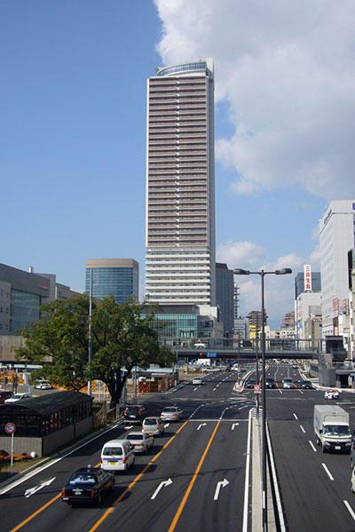 岐阜シティ・タワー43遠景