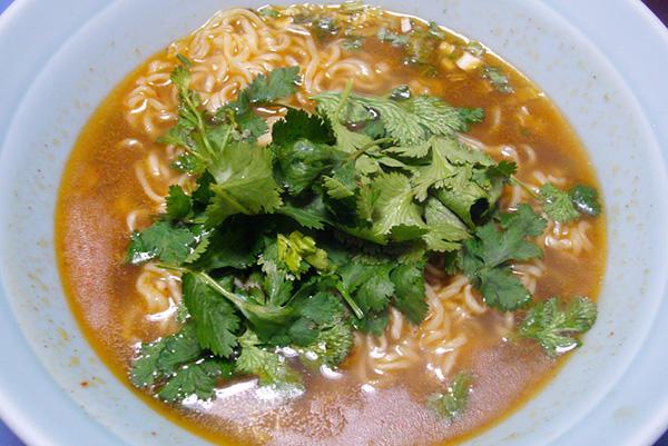 康師傅牛肉麺(調理例)