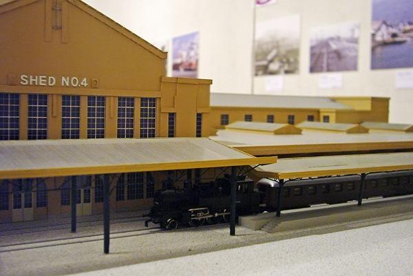 横浜港駅の模型