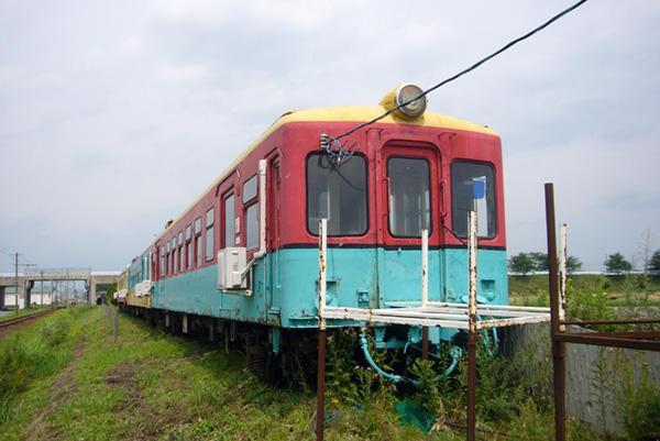 080803弘南鉄道旧黒石線(小坂鉄道)車両