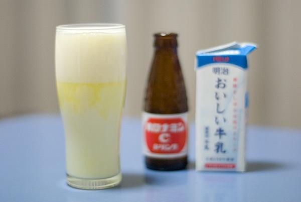 081020 初めてのオロ○ミンミルク