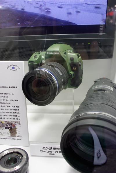 OLYMPUS E-3 アースグリーン