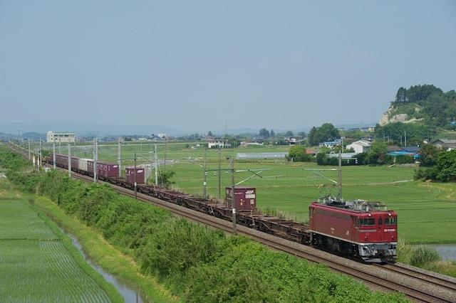 100612 品井沼を走る92列車