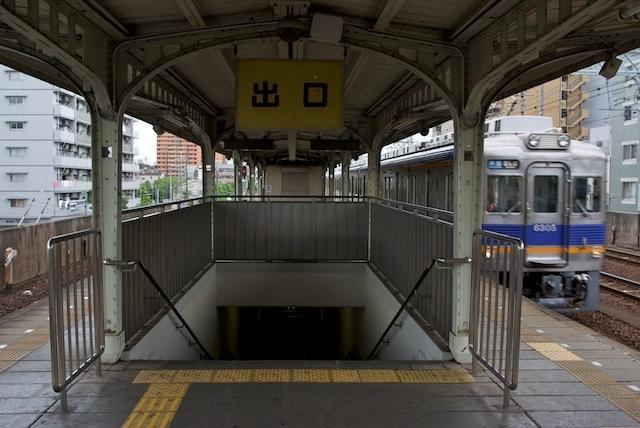 100704 今宮戎駅ホーム