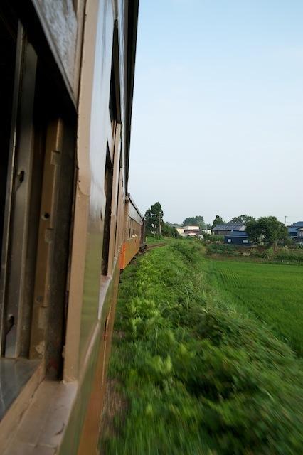 100804 金木から嘉瀬に向かう客車列車