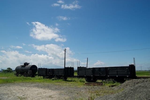 100808 津軽鉄道の貨車3両