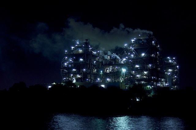 100903 昭和電工川崎事業所の夜景