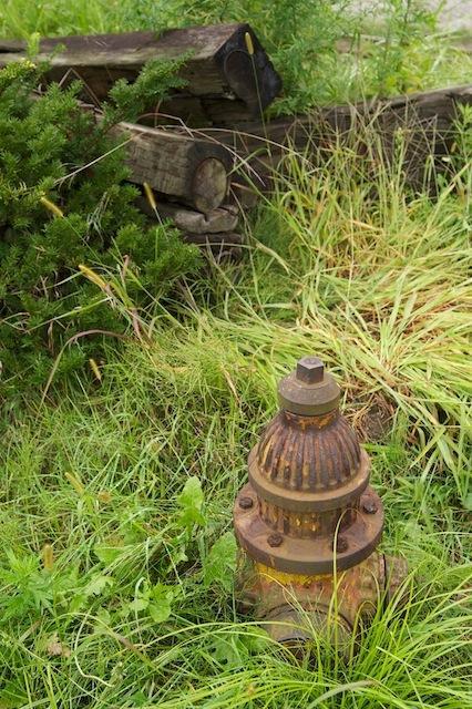 100919 駒場車庫の消火栓