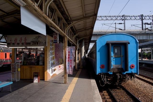 101122 高雄駅に到着した101次復興号