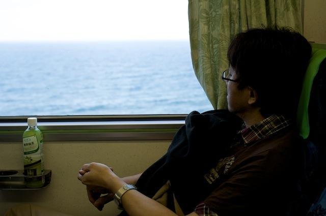 101122 南廻線から見る太平洋