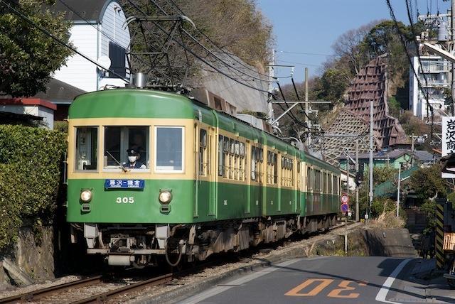 100130 極楽寺〜稲村ヶ崎を走る305F