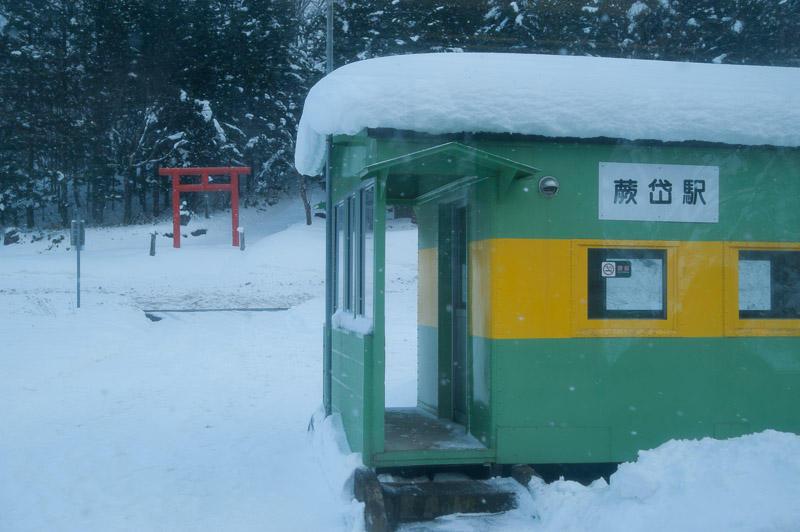 110102 蕨岱駅と鳥居