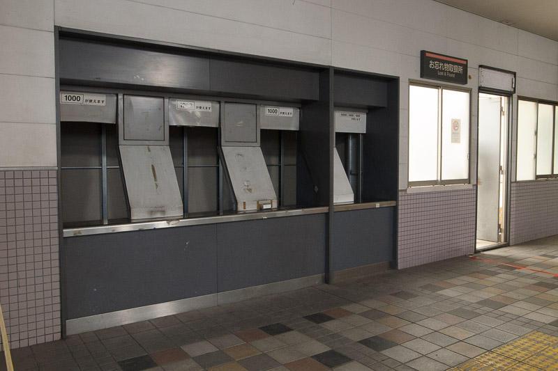 111022 旧東横線桜木町駅切符売り場周辺