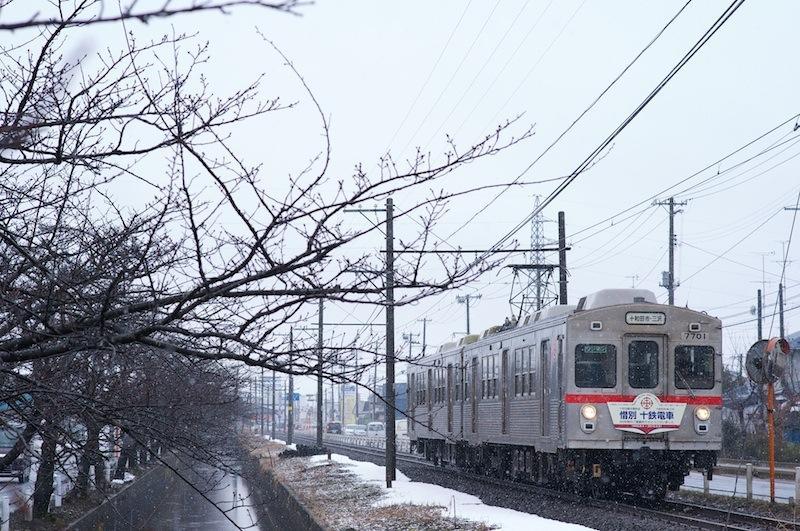 120331 ひがし野団地駅に入る十鉄電車