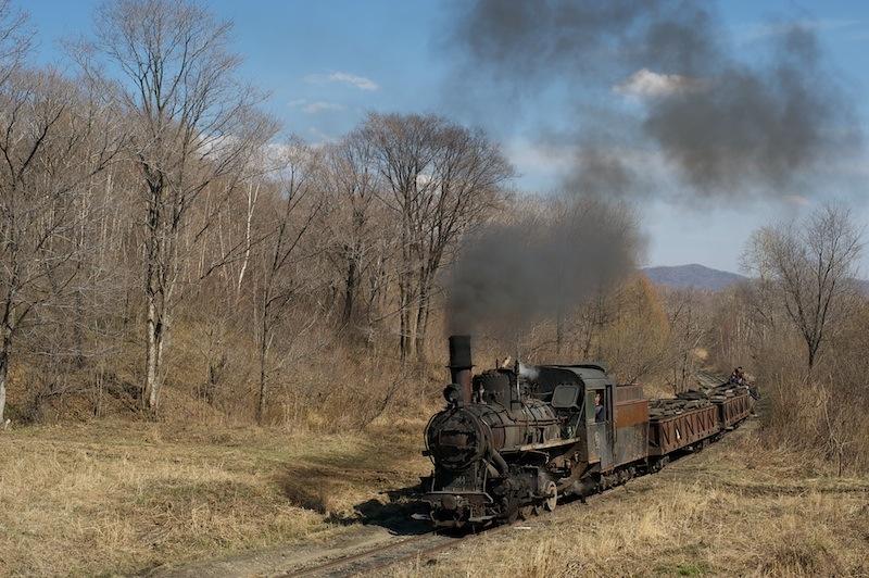 120503 樺南に向けて下って行く蒸機