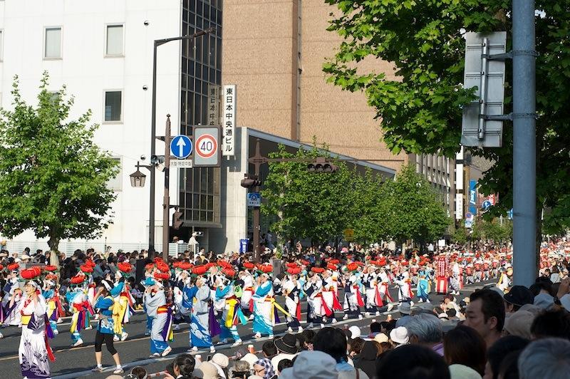 120526 東北六魂祭のさんさ踊り