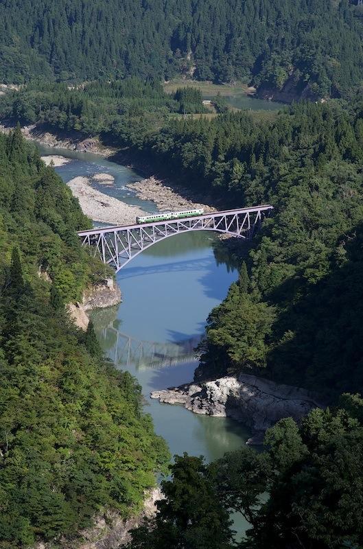 121008 只見川第一橋梁俯瞰