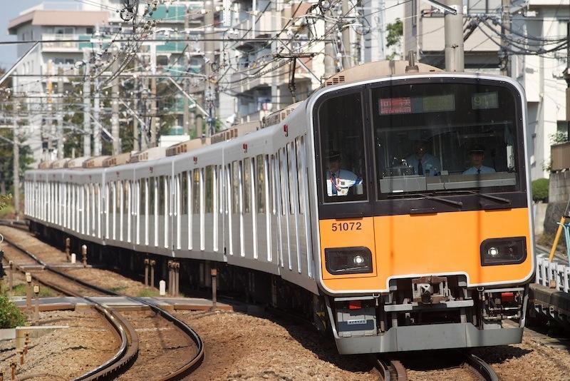 121016 妙蓮寺〜白楽を走る東武50070系