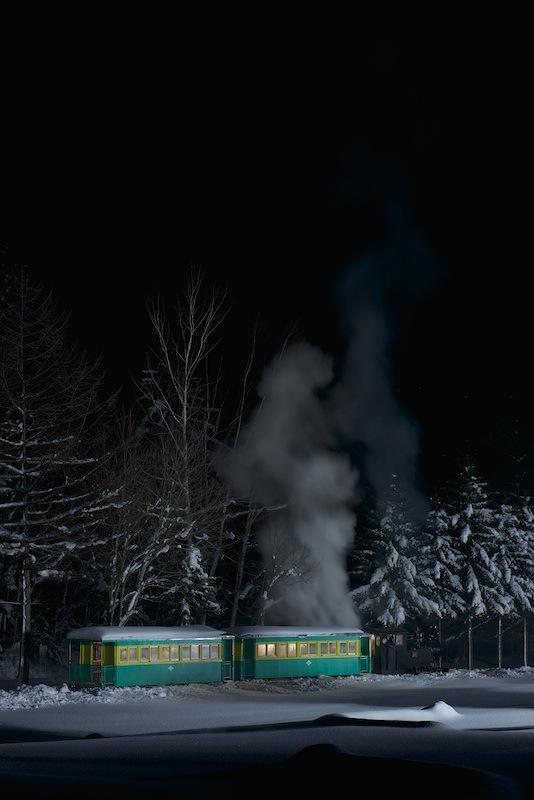 121215 後側から見た蒸機列車