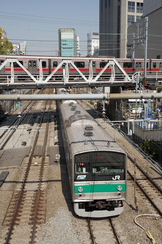 130309 埼京線と東横線