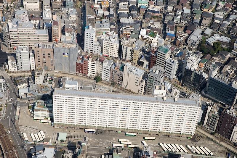 130309 都営渋谷東二丁目第2アパート空撮
