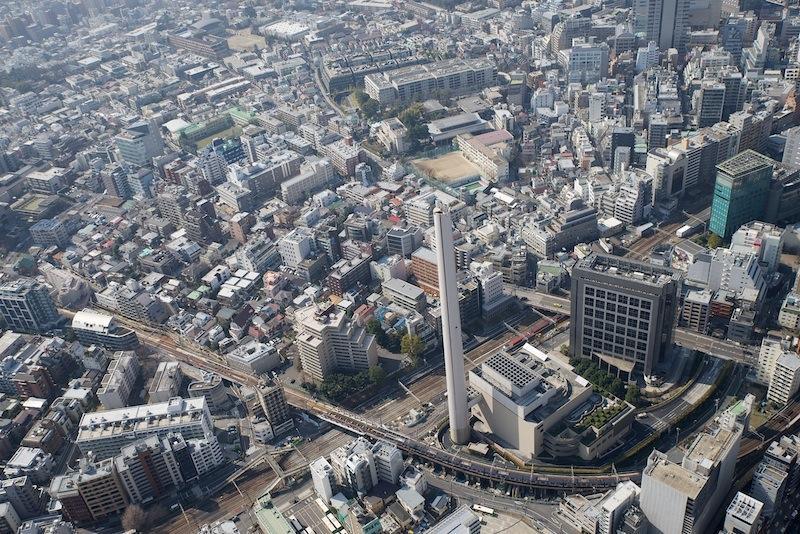 130309 渋谷清掃工場と東横線