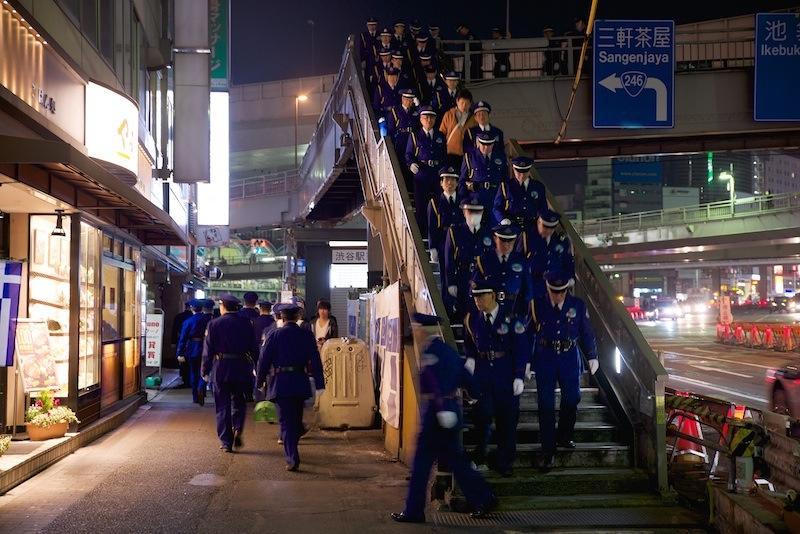 130316 渋谷駅警備のみなさま