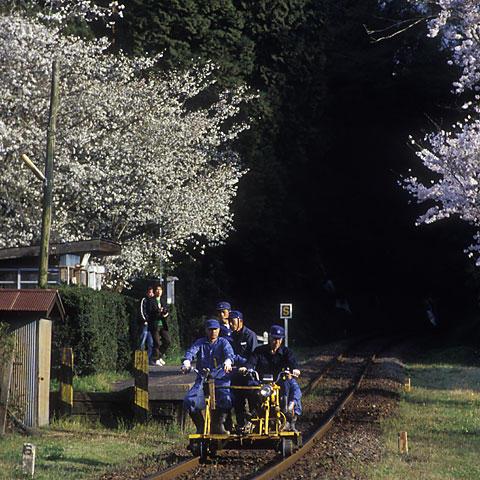 小湊鉄道の軌道バイク(参考写真)